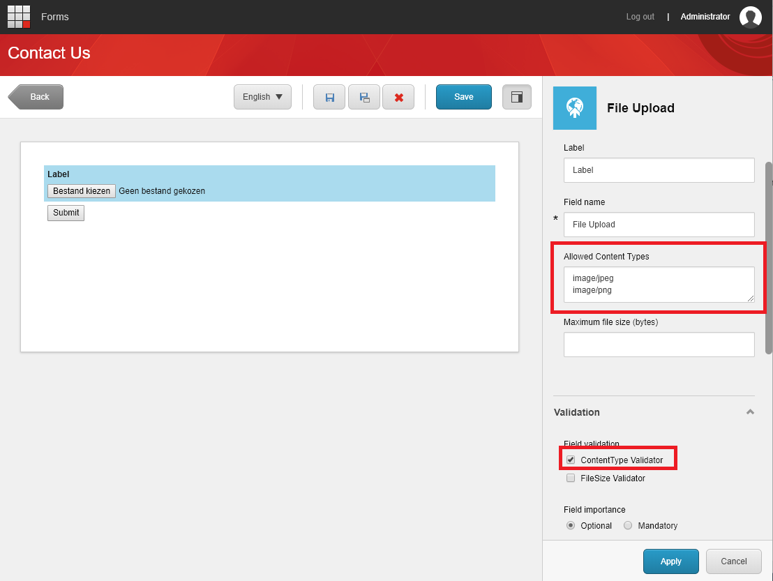 File Upload for Sitecore Forms – One Little Spark